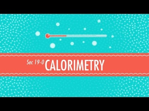 Calorimetry Crash Course Chemistry