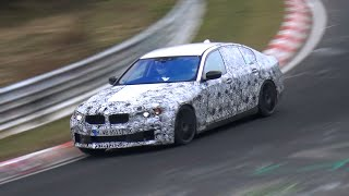 2018 bmw m5 f90 testing on the nurburgring fast