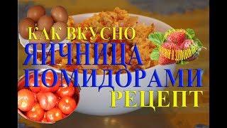 Яичница с помидорами рецепты как вкусно приготовить помидоры с яйцами