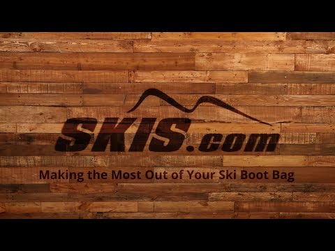 How to Make the Most Out of Your Ski Boot Bag - YouTube 607aa10f32ff6