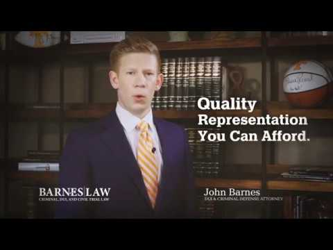 Barnes Law Firm DUI Commercial