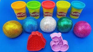 Learn Colors with Colors Balls out of Play Doh | Making Figurines| Learn numbers |Video for Kids
