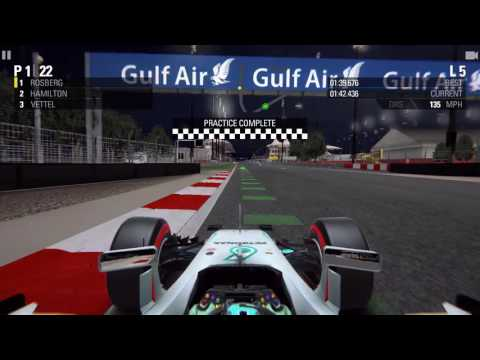F1 2016 (by The Codemasters) iOS Gameplay - Season Mode - 2016 FORMULA 1 GULF AIR BAHRAIN GRAND PRIX