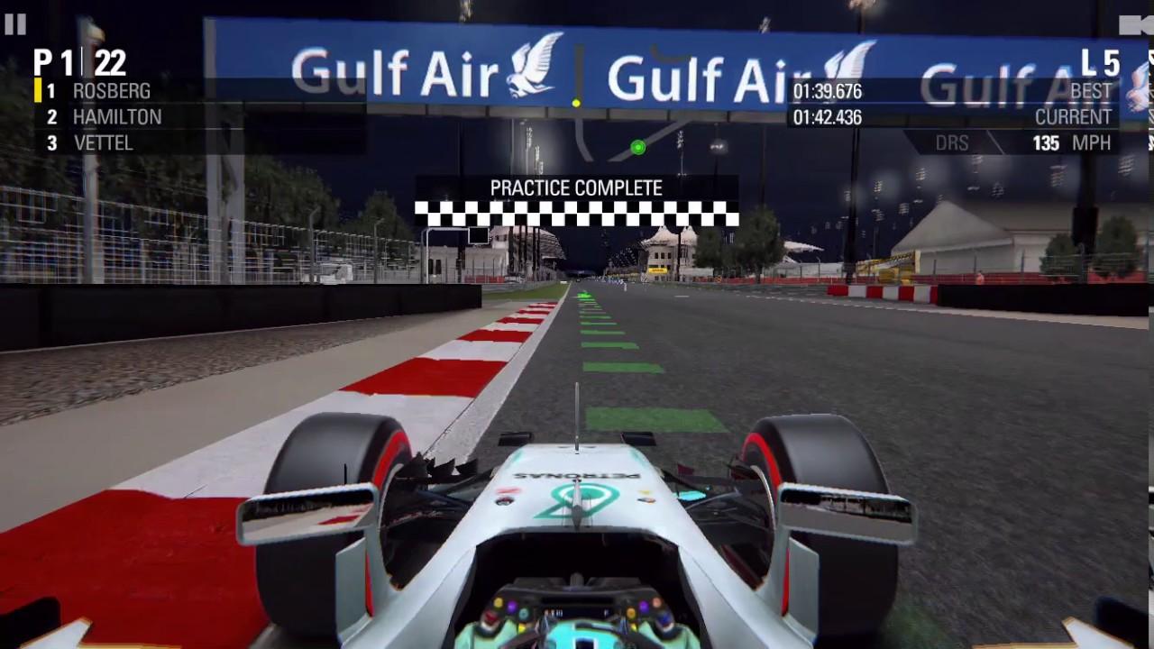 f1 2016 by the codemasters ios gameplay season mode 2016 formula 1 gulf air bahrain grand. Black Bedroom Furniture Sets. Home Design Ideas