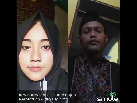 Duet syahdu PERTEMUAN (Irma feat Nurudin Djon on smule)