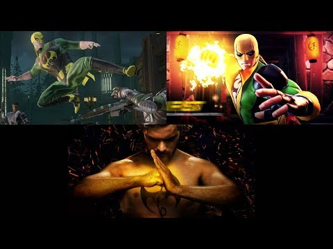 Evolution of Iron Fist in Marvel Ultimate Alliance Games (2009 - 2019)