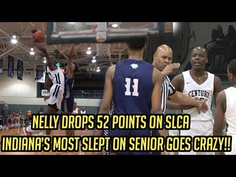Johnell NELLY Davis drops 52 points on st louis christian academy
