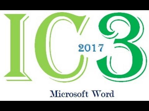microsoft word exam questions pdf