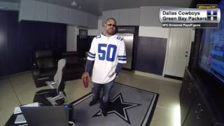 Watching the Cowboys take on the Packers