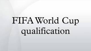 FIFA World Cup qualification
