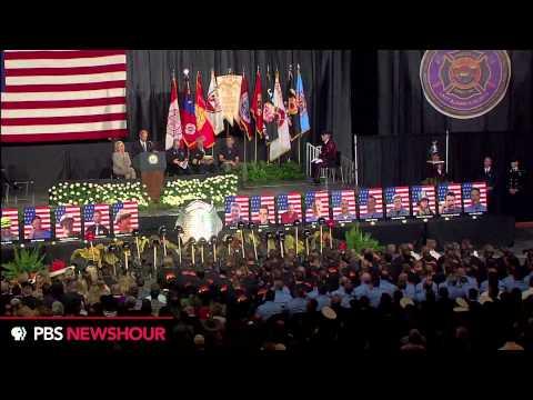 Watch VP Joe Biden Speak at Yarnell Hill Memorial