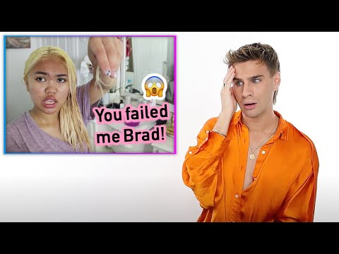 Hairdresser Reacts To People Bleaching Their Hair Following My Tutorial