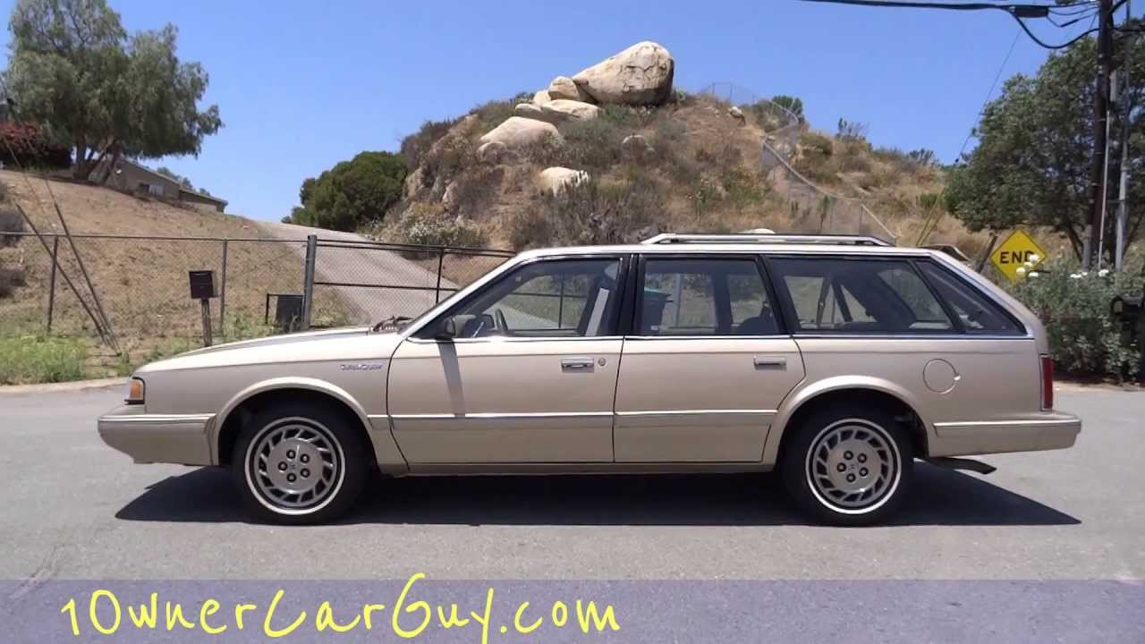 Oldsmobile cutlass cruiser station wagon estate break 16 000 orig miles 1 owner youtube