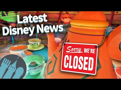 Latest Disney News: More Ride Closures, Extended Park Hours, Valentine's Snacks and MORE