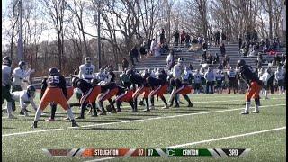 Stoughton High vs Canton: 2018 Thanksgiving Football Game
