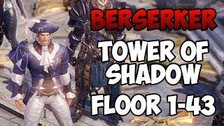 Lost Ark - Tower of Shadow Floor 1-43 (Berserker) - Final CBT Gameplay