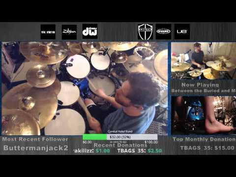 BTBAM - Colors DRUMS LIVE from www.twitch.tv/danwind86