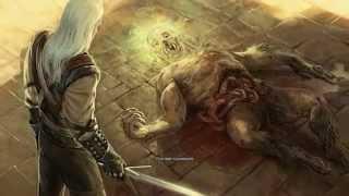Ведьмак кат-сцены: Геральт убил оборотня
