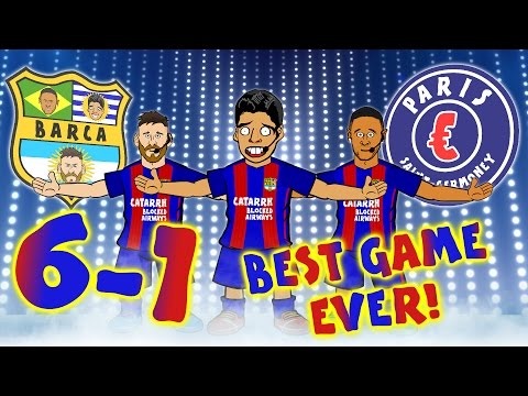 Thumbnail: BARCA 6-1 PSG! THE BEST GAME EVER! Barcelona complete the greatest comeback in the Champions League!