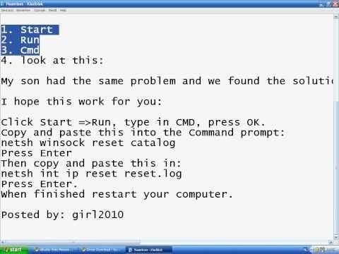 Fix For Error 105 (err_Name_Not_Solved)