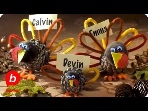 Thanksgiving turkey craft decorations crafts babble youtube