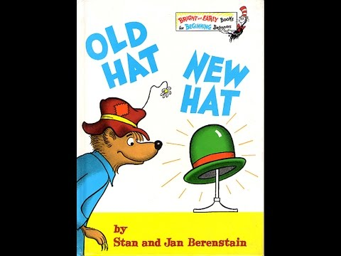 Old Hat New Hat by Stan and Jan Berenstain