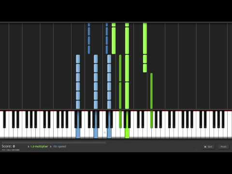 How to Play Fall Away by The Fray on Piano