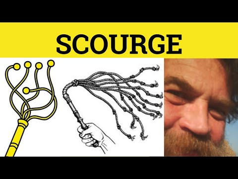 🔵 Scourge - Scourge Meaning - Scourge Examples - Scourge Defined