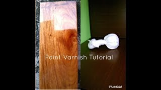 Old Varnish Techniques Step by Step- Part 2 tagalog