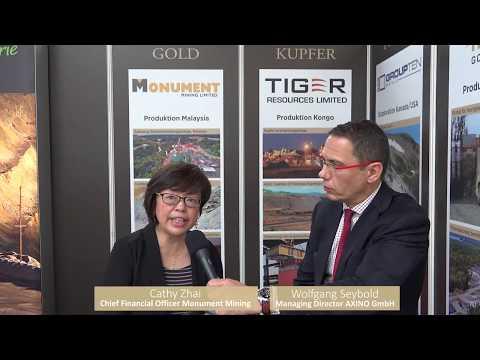 AXINO Interview Mit Cathy Zhai, CFO Von Monument Mining Limited - November 2017