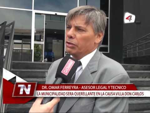 AUDIENCIA VILLA DON CARLOS OMAR FERREYRA, JOSE MARIA DEL VALLE