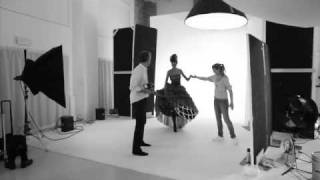 Renè Olivier Photo Shooting Backstage