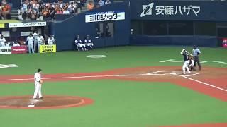 7/26 ヤクルト対巨人 11回表 山田哲人選手 勝ち越しタイムリー!