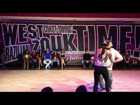 Jessica Pacheco and Charles - Jack & Jill cross over - Swing Zouk Time