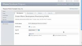 How To Videos   Creating Provisioning Profiles   iOS Dev Center   Apple Developer