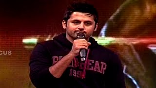 Nithin Speech at Pooja Movie Audio Launch || Vishal, Shruti Haasan