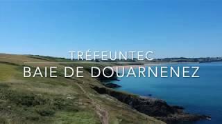 Baie de Douarnenez vue du ciel