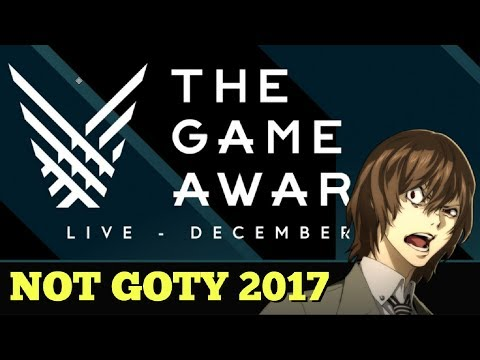 Persona 5 Did NOT Win Game of the Year Award - (The Game Awards 2017)