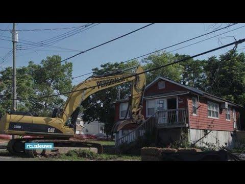 Huizen moeten wijken voor water