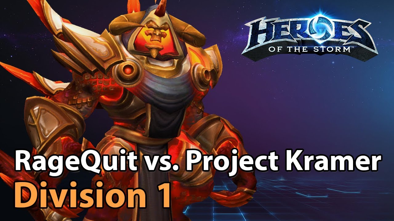 ► RageQuit Gaming vs. Project Kramer - Division 1 - Heroes of the Storm Esports