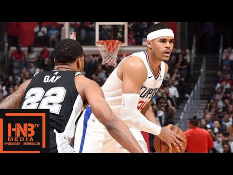 San Antonio Spurs vs LA Clippers Full Game Highlights / April 3 / 2017-18 NBA Season
