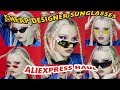 🏁😎 CHEAP ASS OAKLEY AND DESIGNER SUNGLASSES?? ✔️ ALIEXPRESS HAUL ✔️ L.LAVENDER