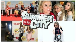 SUMMER IN THE CITY WEEKEND VLOG 2017!