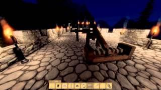 Medieval Engineers, Nightfall, Fire Pixies, Iluminated Mega Tower (update 02.006)