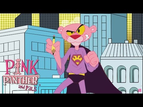 Pink Panther Saves the Day! | 30+ Minute Superhero Panther C