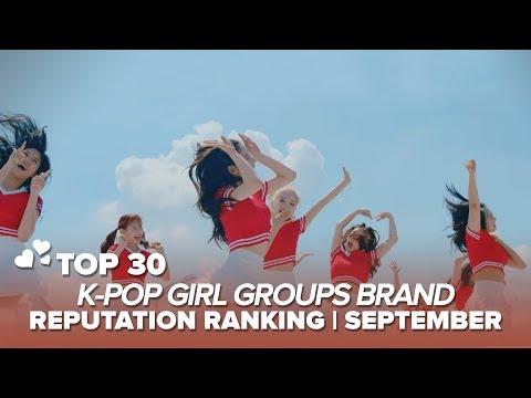 TOP 30 K-POP GIRL GROUPS BRAND REPUTATION RANKING | SEPTEMBER