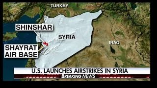 04/06 US Launches Attack On Syria, 50 Tomahawk Missiles Fired From Navy Ships