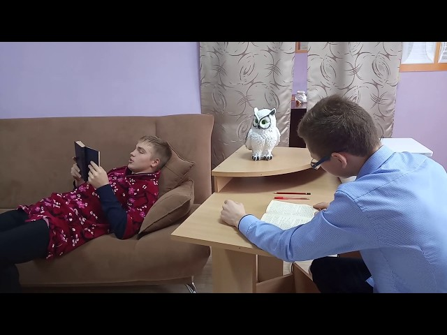 """Изображение предпросмотра прочтения – «Студия """"Школа+""""» читают произведение «Обломов» И.А.Гончарова"""