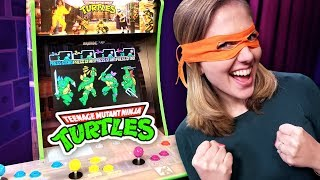 Game | TMNT Arcade Unboxing, building, playing the Arcade1up game station | TMNT Arcade Unboxing, building, playing the Arcade1up game station