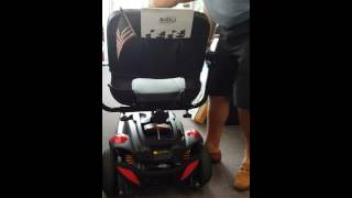 Golden Technologies New Buzz Extreme 3 or 4 wheel travel scooter